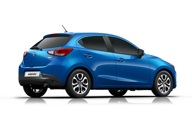 Mazda Mazda2 Hatch 5Dr 1.5 SKYACTIV-G MHEV 90PS GT Sport Nav 5Dr Manual [Start Stop] [Stone Lthr] back view