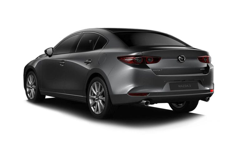 Mazda Mazda3 Saloon 2.0 SKYACTIV-X MHEV 180PS Sport 4Dr Auto [Start Stop] back view