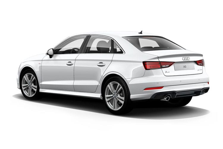Audi A3 35 Saloon 4Dr 1.5 TFSI 150PS S line 4Dr Manual [Start Stop] [Comfort Sound] back view