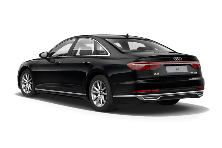Audi A8 50 Saloon quattro 4Dr 3.0 TDI V6 286PS Black Edition 4Dr Tiptronic [Start Stop] back view