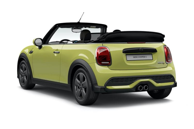 MINI Convertible Cooper 1.5  136PS Exclusive 2Dr Steptronic [Start Stop] back view