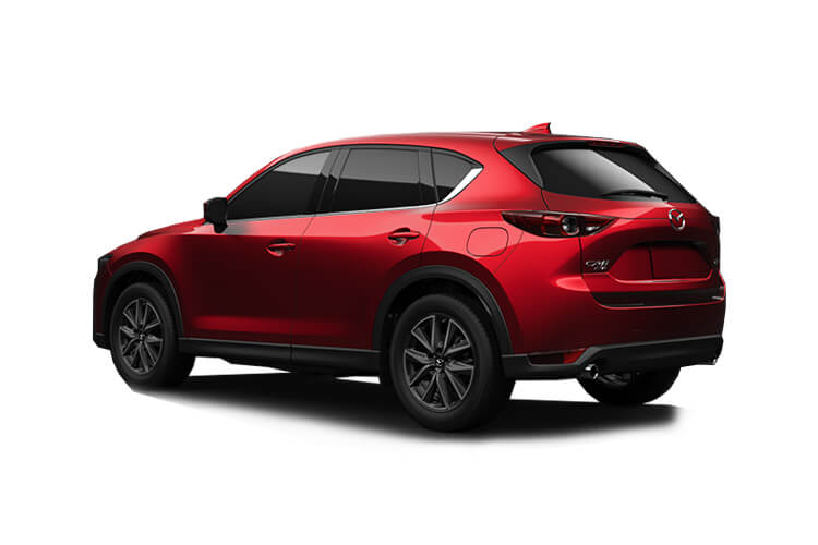 Mazda CX-5 SUV 4wd 2.2 SKYACTIV-D 184PS Sport 5Dr Auto [Start Stop] back view
