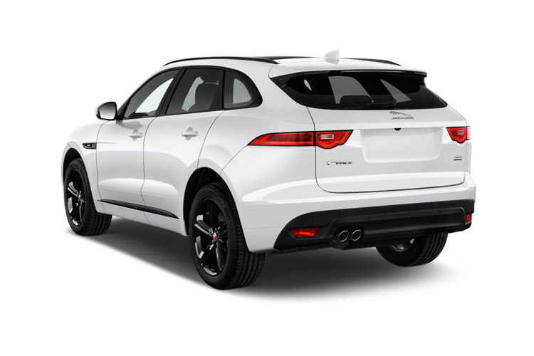 Jaguar F-PACE SUV AWD 2.0 d MHEV 204PS R-Dynamic S 5Dr Auto [Start Stop] back view