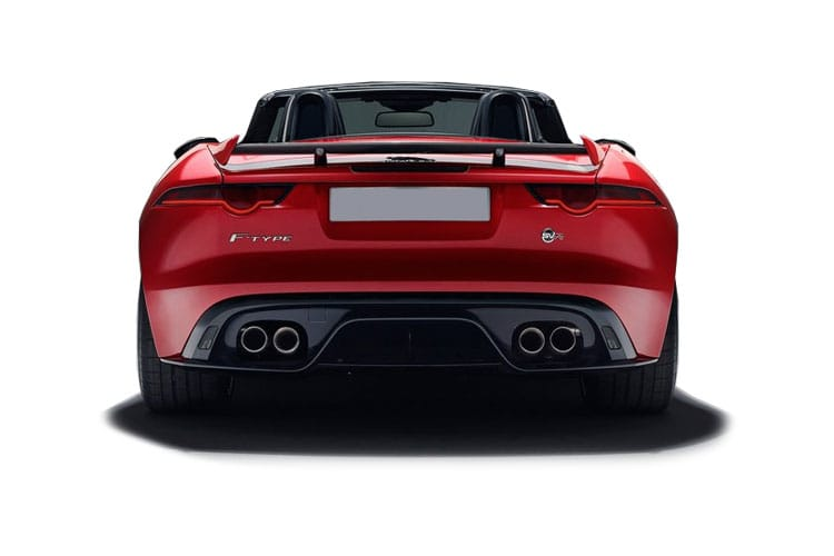 Jaguar F-TYPE Convertible AWD 5.0 V8 450PS R-Dynamic 2Dr Auto [Start Stop] back view