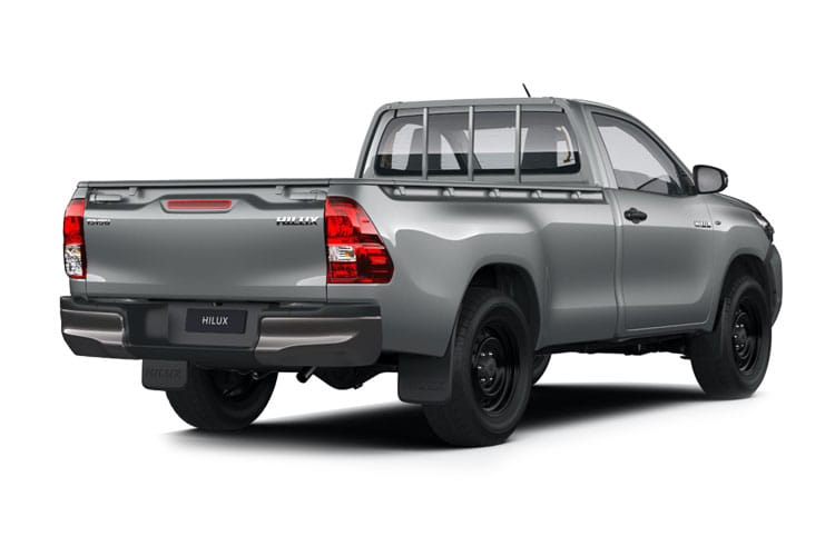 Toyota Hilux PickUp Double Cab 4wd 2.4 D-4D 4WD 150PS Active Pickup Double Cab Manual back view