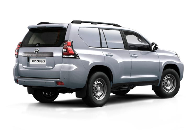 Toyota LandCruiser LCV SWB 4wd 2.8 D 4WD 204PS Active Van Auto [Start Stop] [2Seat] back view