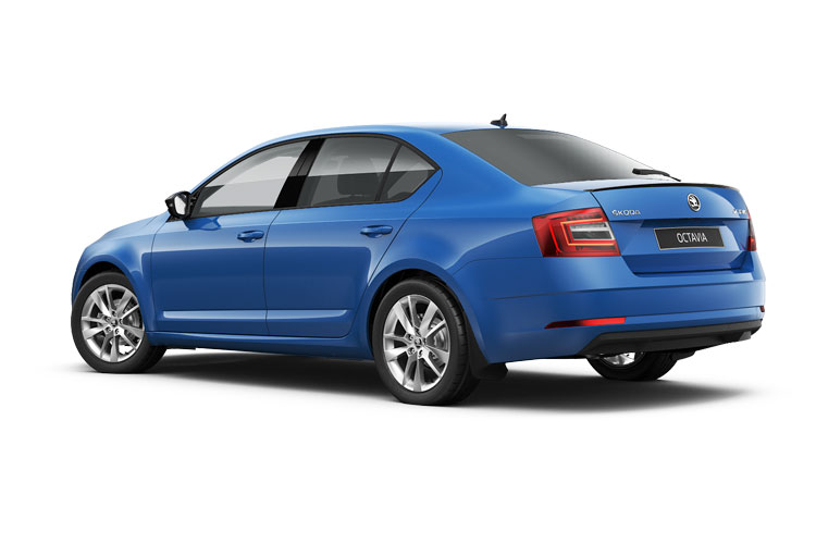 Skoda Octavia Hatch 5Dr 1.0 TSi 110PS SE 5Dr Manual [Start Stop] back view