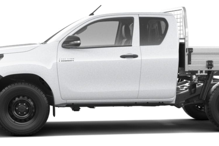 Toyota Hilux PickUp Extra Cab 4wd 2.4 D-4D 4WD 150PS Active Dropside Dropside Double Cab Manual detail view