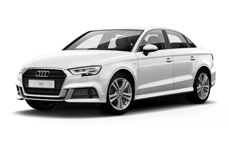 Audi A3 35 Saloon 4Dr 1.5 TFSI 150PS S line 4Dr Manual [Start Stop] [Comfort Sound] front view