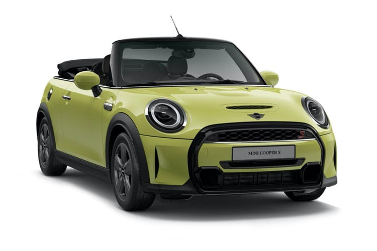 MINI Convertible Cooper 1.5  136PS Exclusive 2Dr Steptronic [Start Stop] front view