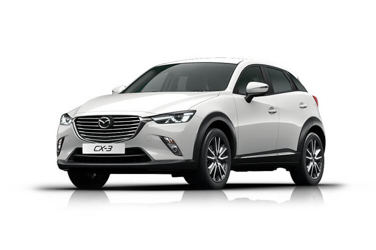 Mazda CX-3 SUV 2.0 SKYACTIV-G 121PS Sport Nav+ 5Dr Manual [Start Stop] [Safety] front view