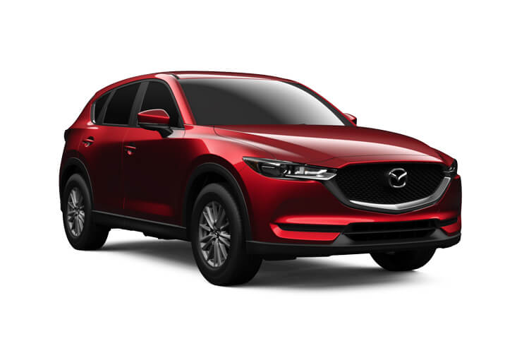 Mazda CX-5 SUV 2.2 SKYACTIV-D 184PS Sport 5Dr Auto [Start Stop] [Safety] front view