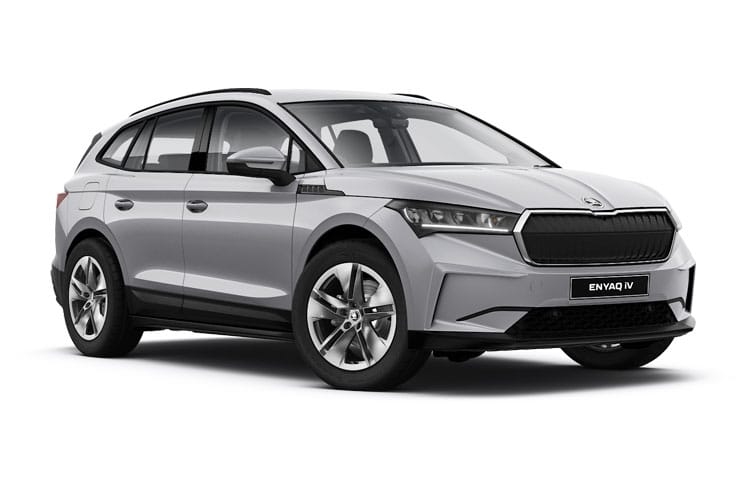 Skoda Enyaq iV 80 SUV Elec 82kWh 150KW 204PS  5Dr Auto [Lounge] front view