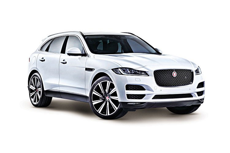 Jaguar F-PACE SUV AWD 2.0 d MHEV 204PS R-Dynamic S 5Dr Auto [Start Stop] front view