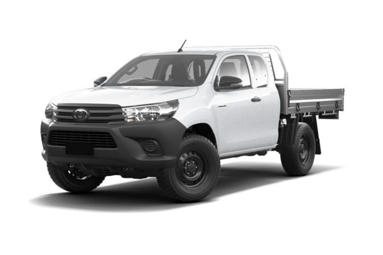 Toyota Hilux PickUp Extra Cab 4wd 2.4 D-4D 4WD 150PS Active Dropside Dropside Double Cab Manual front view