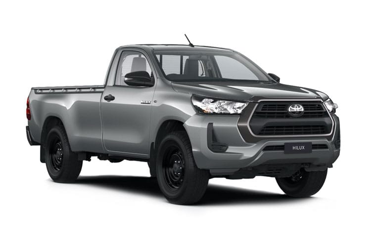 Toyota Hilux PickUp Double Cab 4wd 2.4 D-4D 4WD 150PS Active Pickup Double Cab Manual front view