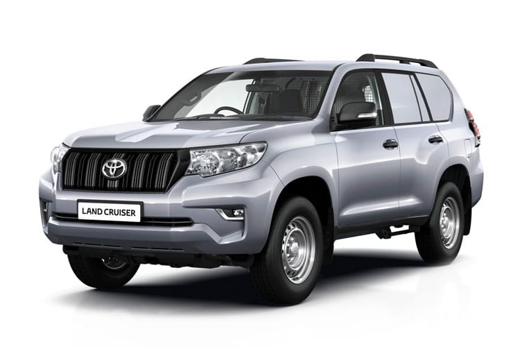 Toyota LandCruiser LCV SWB 4wd 2.8 D 4WD 204PS Active Van Auto [Start Stop] [2Seat] front view