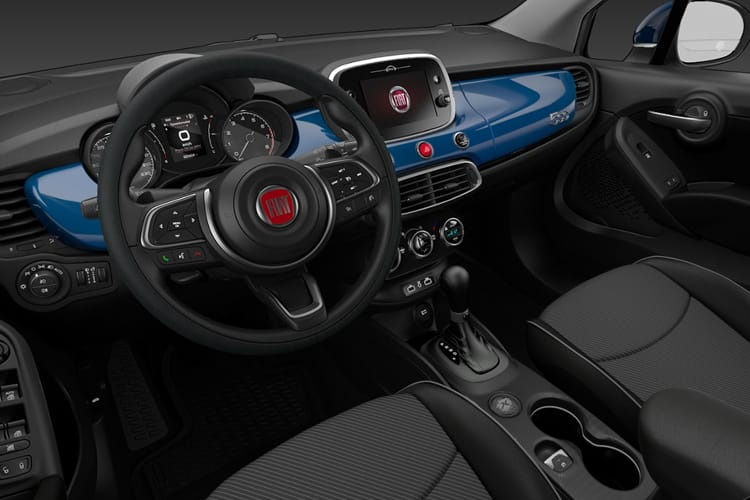 Fiat 500X SUV 1.0 FireFly Turbo 120PS Urban 5Dr Manual [Start Stop] [Nav] inside view