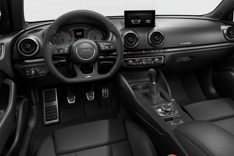 Audi A3 35 Saloon 4Dr 1.5 TFSI 150PS S line 4Dr Manual [Start Stop] [Comfort Sound] inside view