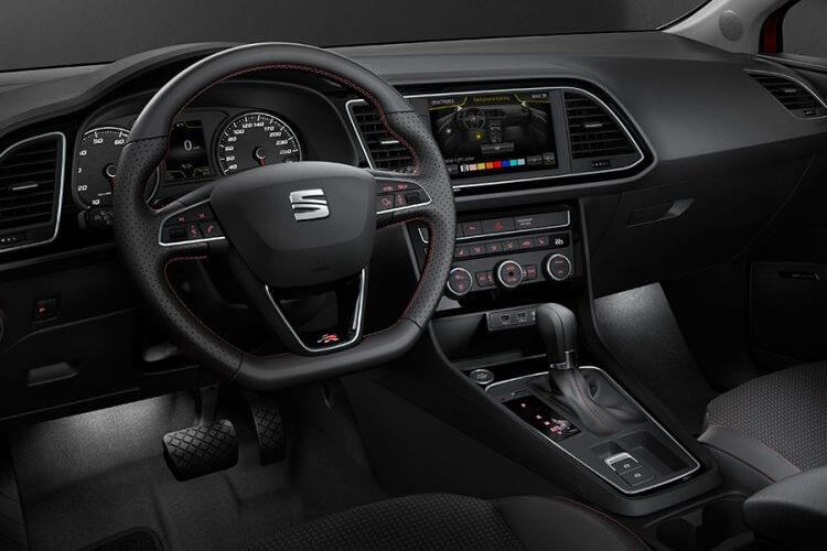 SEAT Leon Hatch 5Dr 1.6 TDI 115PS SE Dynamic Technology 5Dr Manual [Start Stop] inside view