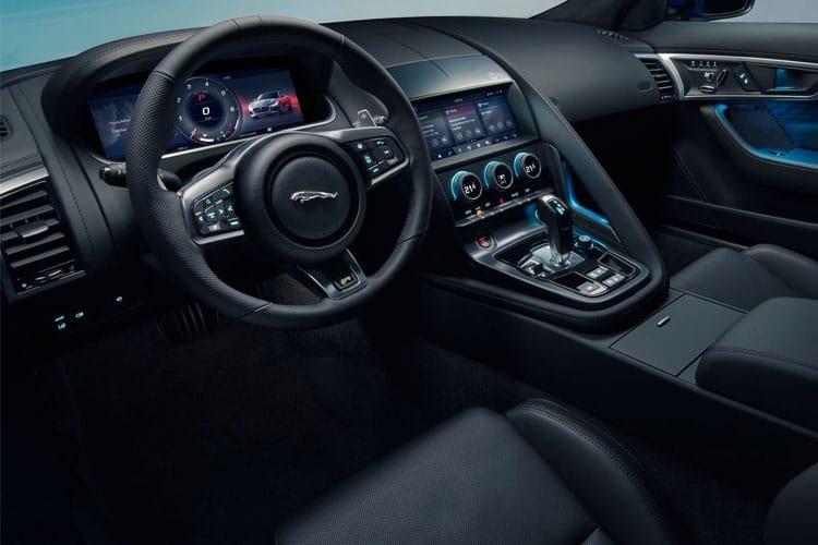 Jaguar F-TYPE Coupe 2.0 i 300PS First Edition 2Dr Auto [Start Stop] inside view