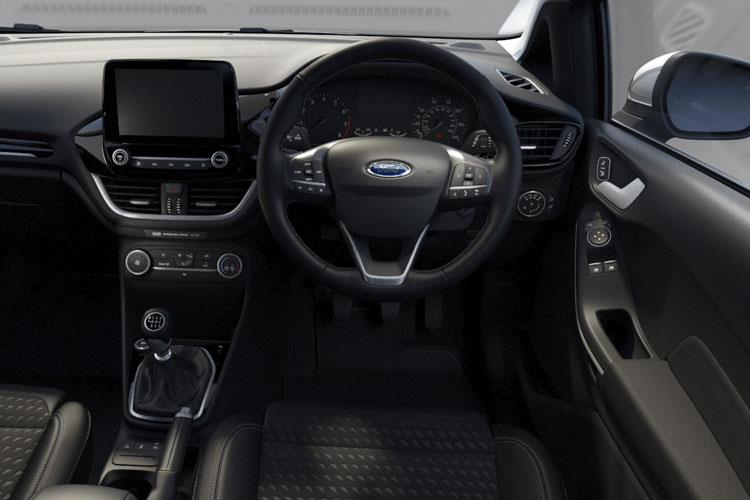 Ford Fiesta Hatch 3Dr 1.0 T EcoBoost MHEV 125PS Trend 3Dr Manual [Start Stop] inside view