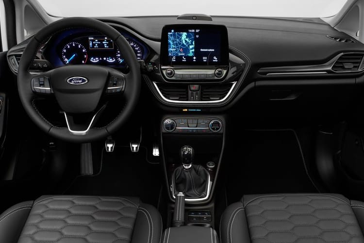 Ford Fiesta Hatch 5Dr 1.0 T EcoBoost 95PS Trend 5Dr Manual [Start Stop] [SNav] inside view