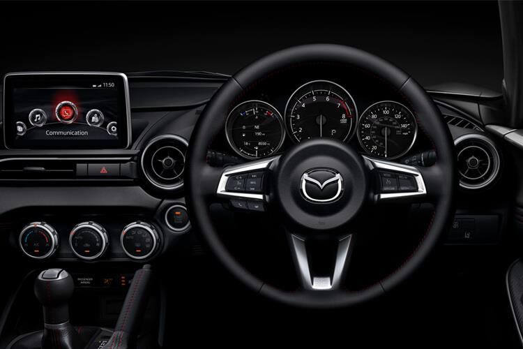 Mazda MX-5 Convertible 2.0 SKYACTIV-G 184PS GT Sport Tech 2Dr Manual [Start Stop] inside view