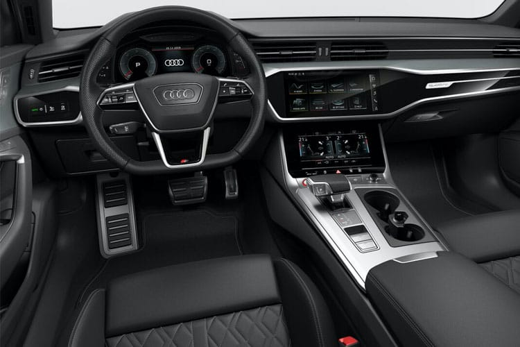 Audi A6 45 Saloon quattro 2.0 TFSI 265PS Black Edition 4Dr S Tronic [Start Stop] inside view